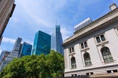 New York city Manhattan Bryant Park US Stock Photo