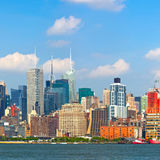 New York City Manhattan byggnader Royaltyfri Foto