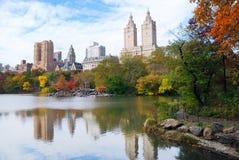 New York City Manhattan Central Park Stock Photo