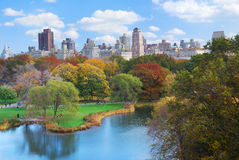 New York City Manhattan Central Park Fotos de Stock Royalty Free
