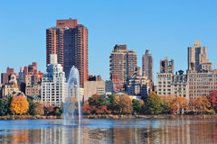 New York City Manhattan Central Park Stock Photo