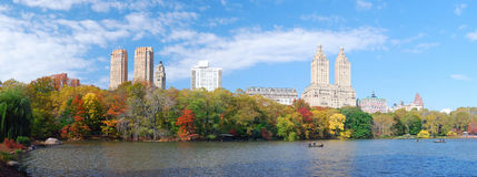 New York City Manhattan Central Park panorama Royalty Free Stock Photography