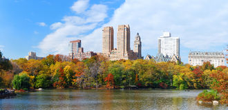 New York City Manhattan Central Park panorama Stock Images