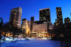 New York City Manhattan Central Park panorama Royalty Free Stock Image