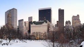New York City Manhattan Central Park panorama Royalty Free Stock Photos