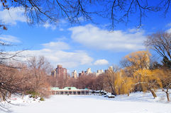 New York City Manhattan Central Park panorama Stock Photos