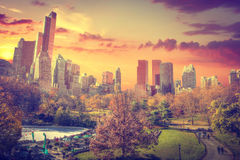New York City Manhattan Central Park Royalty Free Stock Images