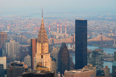 New York City Manhattan Chrysler Building Stock Photography