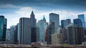 New York City Manhattan cityscape Royalty Free Stock Photos