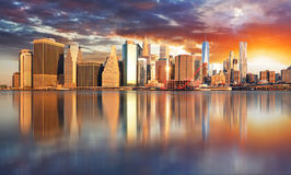 New York City, Manhattan, downtown, NYC, USA. New York City, Manhattan, downtown, NYC in USA Stock Images