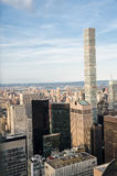 New York City. Manhattan downtown skyline at sunset Royalty Free Stock Photo