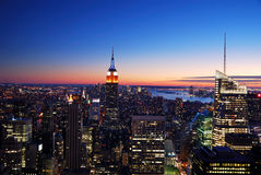 New York City Manhattan Empire State Building Stock Photo