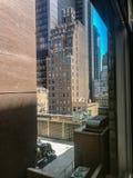 New York City, Manhattan, Etats-Unis - juillet 2018 rues, construction de Manhattan image stock