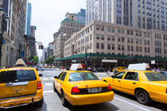 New York City Manhattan Fifth Avenue 5o avoirdupois E.U. Imagem de Stock