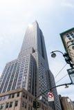 New York city Manhattan Fifth Avenue 5th Av US Royalty Free Stock Image