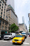 New York city Manhattan Fifth Avenue 5th Av US Royalty Free Stock Photo