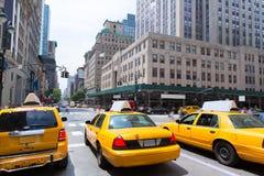New York City Manhattan Fifth Avenue 5th Av USA Fotografering för Bildbyråer