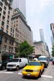 New York City Manhattan Fifth Avenue 5to sistema de pesos americano los E.E.U.U. Foto de archivo libre de regalías