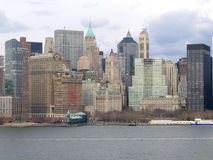 New York City Manhattan General View. Downtown stock image