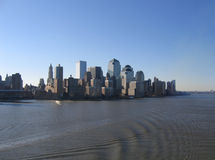 New York City Manhattan General View. Downtown royalty free stock photos