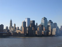 New York City Manhattan General View. Downtown stock photo
