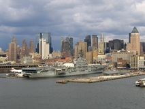 New York City Manhattan General View stock photography