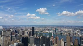 New York City Manhattan Hudson River Image libre de droits