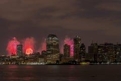 New York City Manhattan July 4th Royalty Free Stock Photography