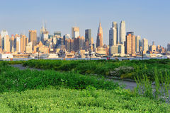 New York City Manhattan midtown Royalty Free Stock Images