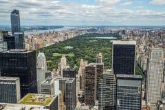 New York City manhattan midtown buildings skyline Stock Photo