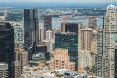 New York City manhattan midtown buildings Royalty Free Stock Photos