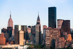 New York City Manhattan Midtown cityscape during sunny spring  Stock Image