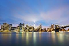 New York City Manhattan midtown Royalty Free Stock Image