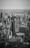 New York City - Manhattan Midtown Sky View Stock Images