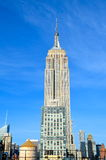 New York City Manhattan midtown view with Empire State Building, NYC Royalty Free Stock Photo