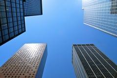 New York City Manhattan midtown view, New York City. Stock Image
