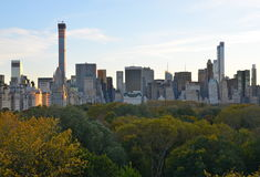 New York City Manhattan midtown view Royalty Free Stock Photography