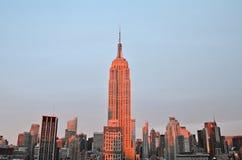 New York City Manhattan midtown view, NUC Royalty Free Stock Image