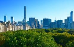 New York City Manhattan midtownsikt Arkivfoto