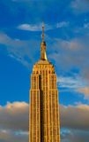 New York City Manhattan midtownsikt med Empire State Building Arkivfoto