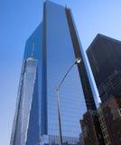 New York City Manhattan 9/11 minnesmärke Arkivbilder