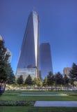 New York City Manhattan 9/11 minnesmärke Royaltyfri Foto