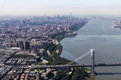 New York City - Manhattan overview Royalty Free Stock Photography