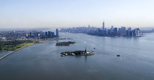 New York City - Manhattan overview Royalty Free Stock Images