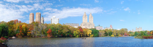 New York City Manhattan panorama Royalty Free Stock Photo