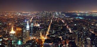 New York City Manhattan panorama Royalty Free Stock Photo
