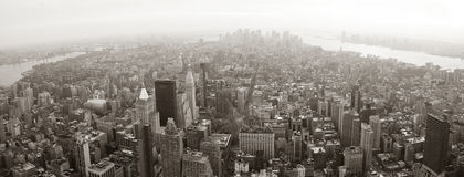 New York City Manhattan panorama Stock Photography