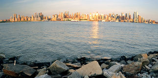 New York City Manhattan panorama Stock Image