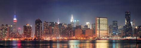 New York City Manhattan panorama Stock Image