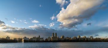 New York City Manhattan reservoir Stock Images
